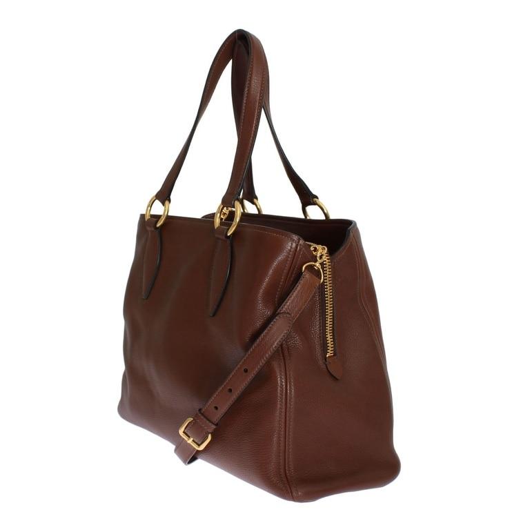 6e880948155d Shop miu miu Miu Miu Vitello Diano RR1901 2E67 F0038 - One Size - Free  Shipping Today - Overstock - 21178085