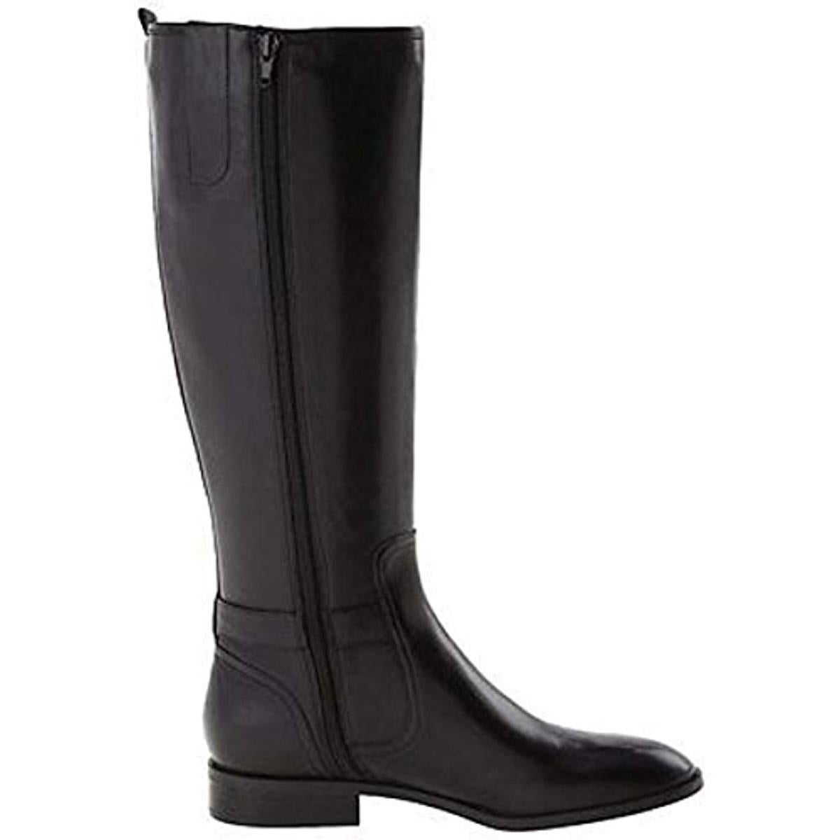 cc7d2aab58c Nine West Womens Bring It Riding Boots Leather Knee-High