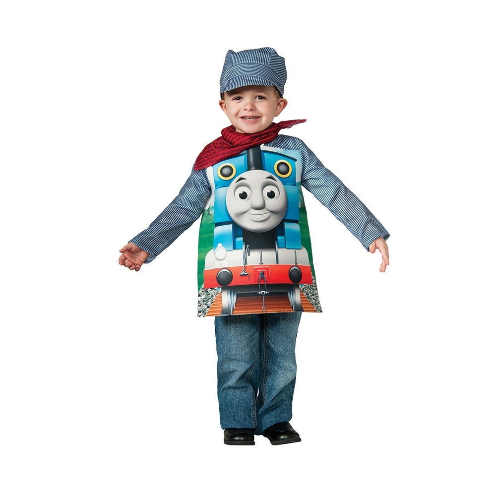 shop toddler deluxe thomas the train engineeer halloween costume