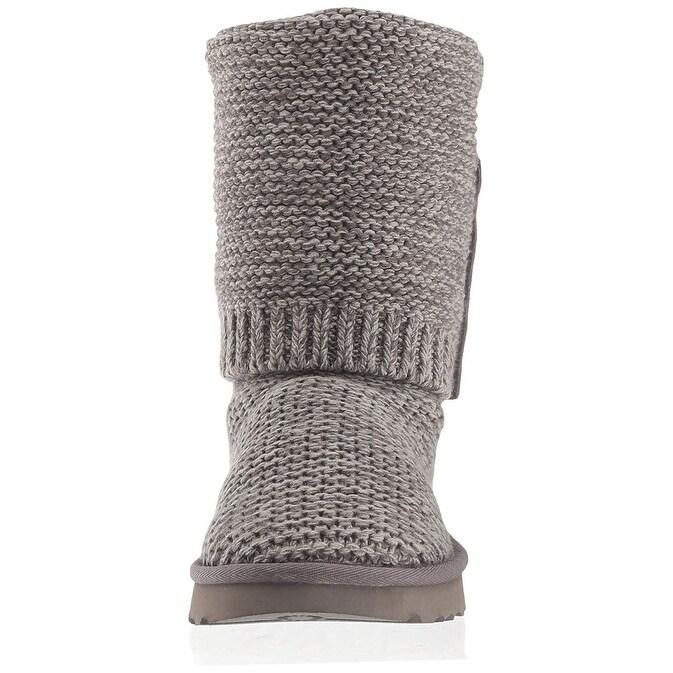 0dc1b485ab1 UGG Women's W PURL Cardy Knit Fashion Boot