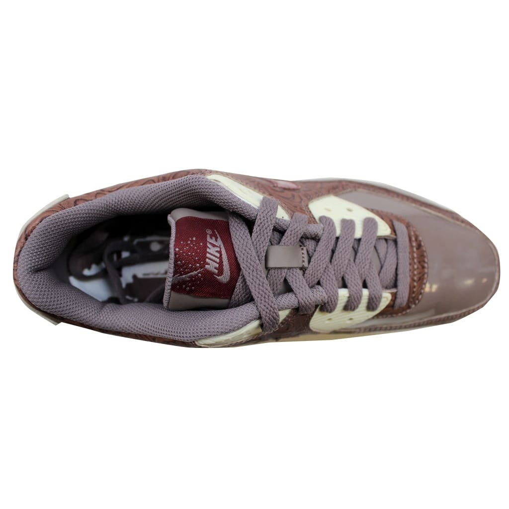 9ba8f398a1 Shop Nike Women's Air Max 90 Premium Orewood Brown/Red Earth-Brown 317246- 261 Size 10.5 - Free Shipping Today - Overstock - 19508235