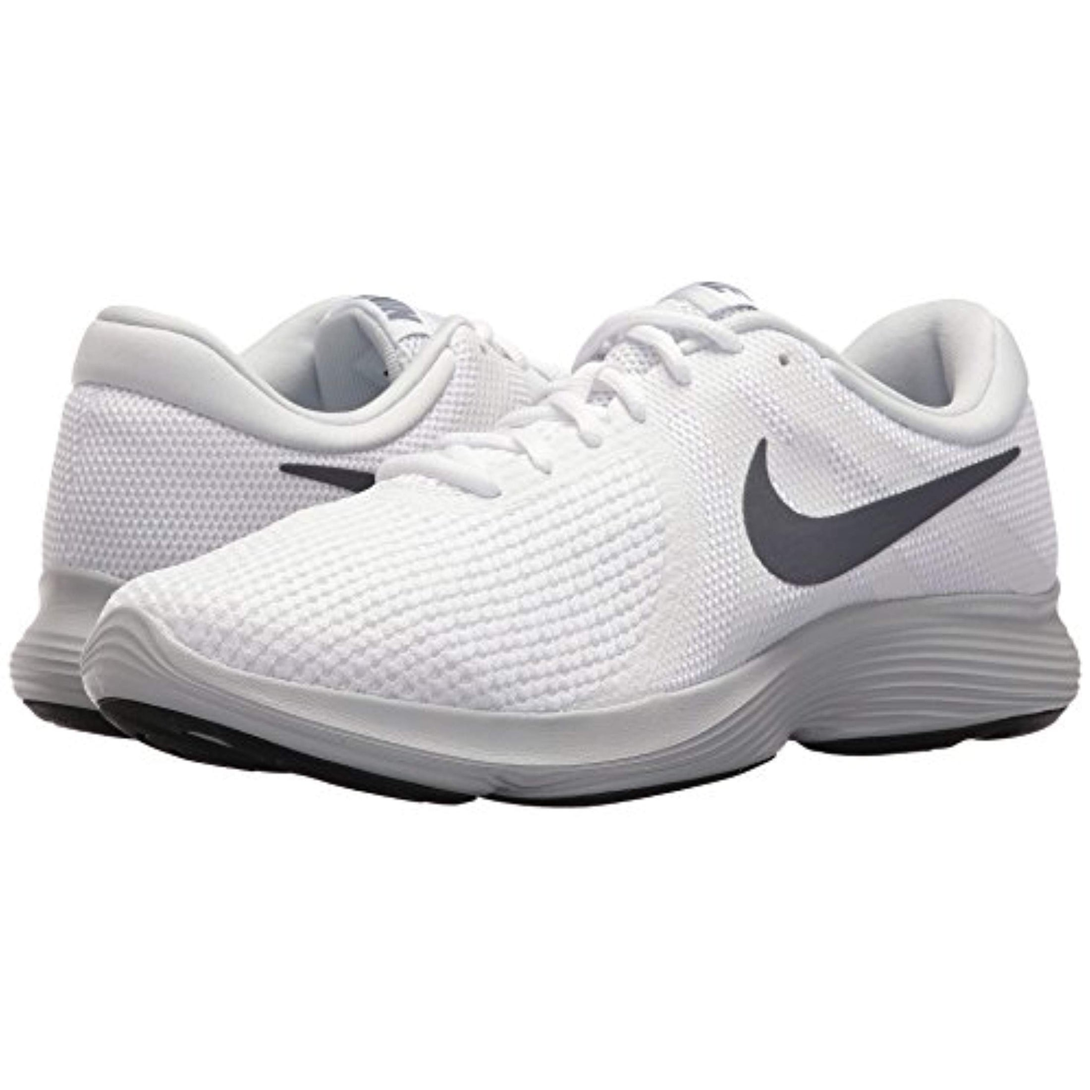 168872ef82 Shop Nike Men s Revolution 4 White Light Carbon-Pure Platinum Running Shoes  - Free Shipping Today - Overstock.com - 26432242