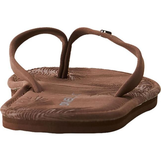 a901c956c09 Shop O Neill Women s Sophia Thong Sandal Coffee - Free Shipping On Orders  Over  45 - Overstock.com - 22207006