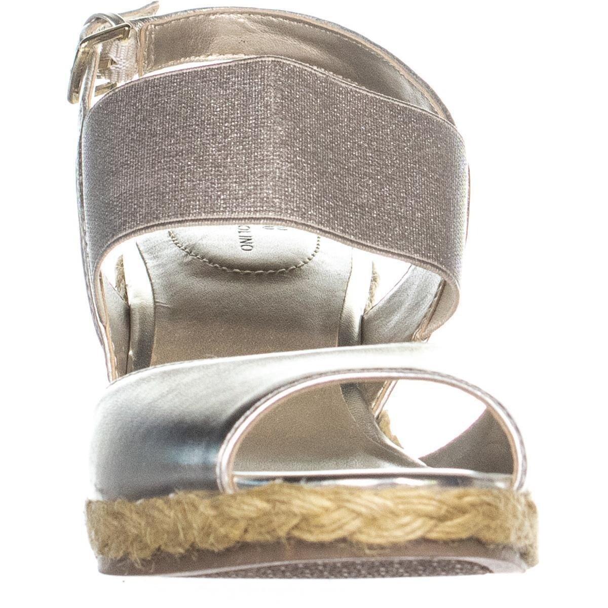 9017342e515 Bandolino Himeka Espadrilles Wedge Sandals, Light Gold/Light Gold