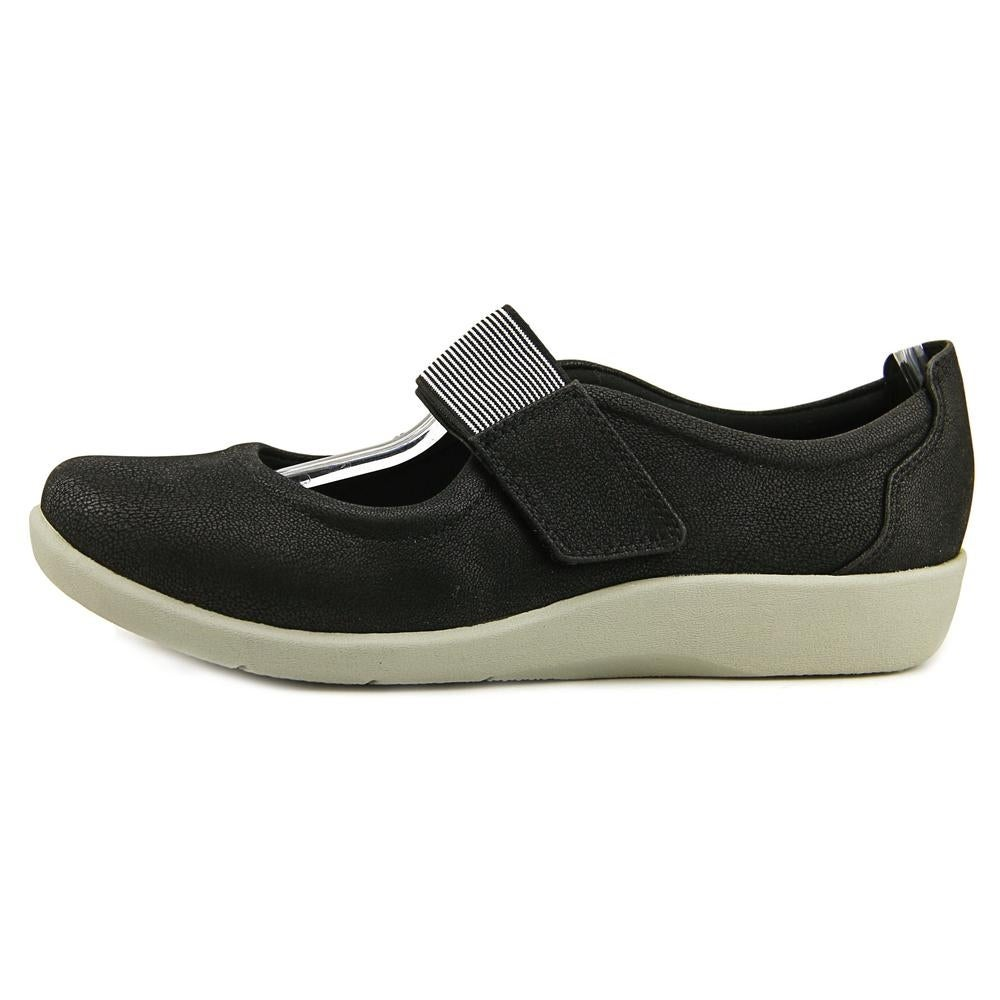 Clarks Cloudsteppers Sillian Cala Women Round Toe Canvas Black Mary Janes -  Free Shipping On Orders Over $45 - Overstock.com - 22701965