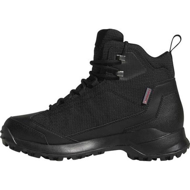 38e00f9bd53 adidas Men's Terrex Heron Mid CW CP Hiking Boot Black/Black/Black