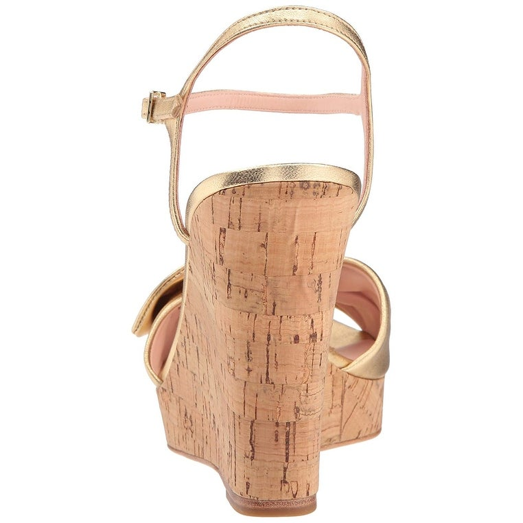 a749ad517362 Shop Kate Spade New York Women s Janae Espadrille Wedge Sandal - Free  Shipping Today - Overstock - 24266987