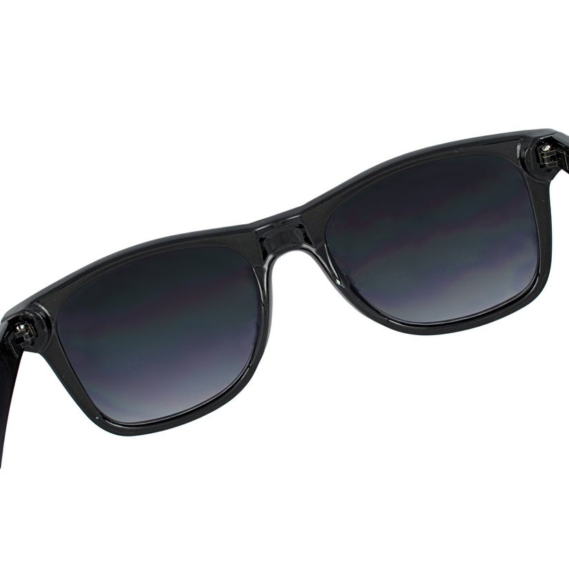 64b7278bf90a8 Shop Retro Style 80`s Black Frame Rasta Sunglasses Gradient Lenses - One  Size - Free Shipping On Orders Over  45 - Overstock - 16756587