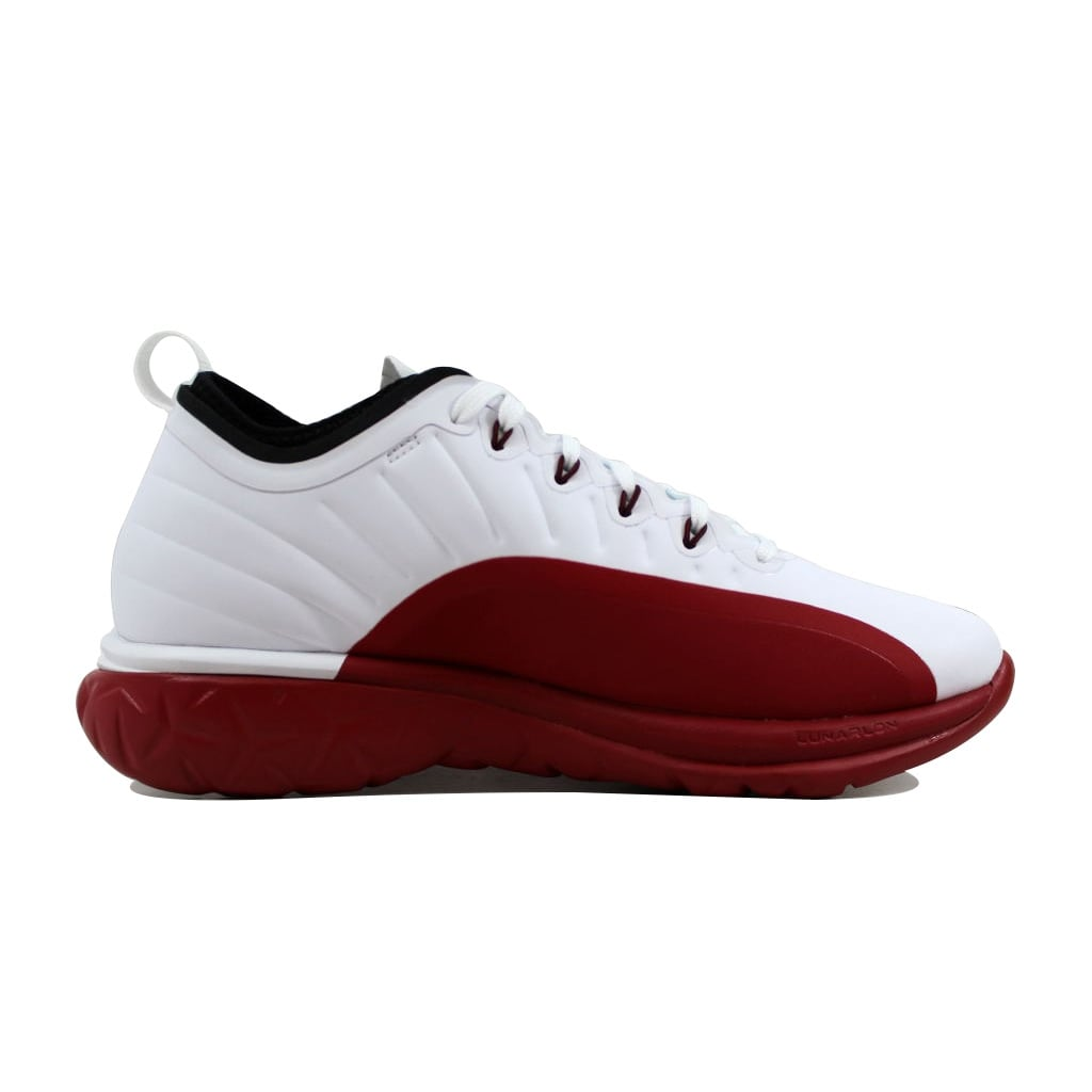d5705bceea1692 Shop Nike Men s Air Jordan Trainer Prime White Black-Gym Red 881463-120 -  Free Shipping Today - Overstock - 21141490