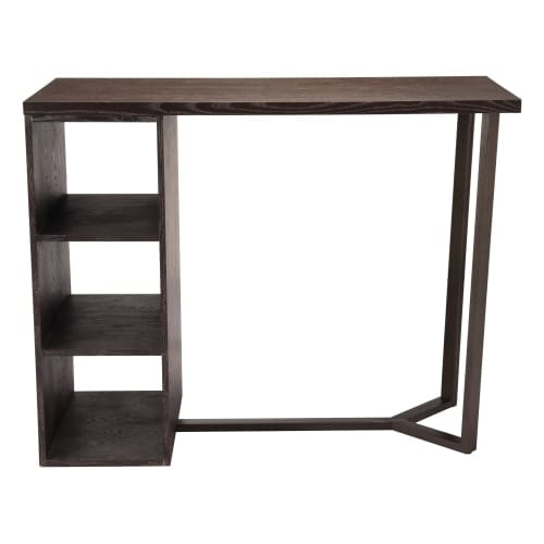 Zuo Modern 100815 Brooklyn 54 Long Metal Frame Entertainment Stand Alone Bar Wi Free Shipping Today 19845830