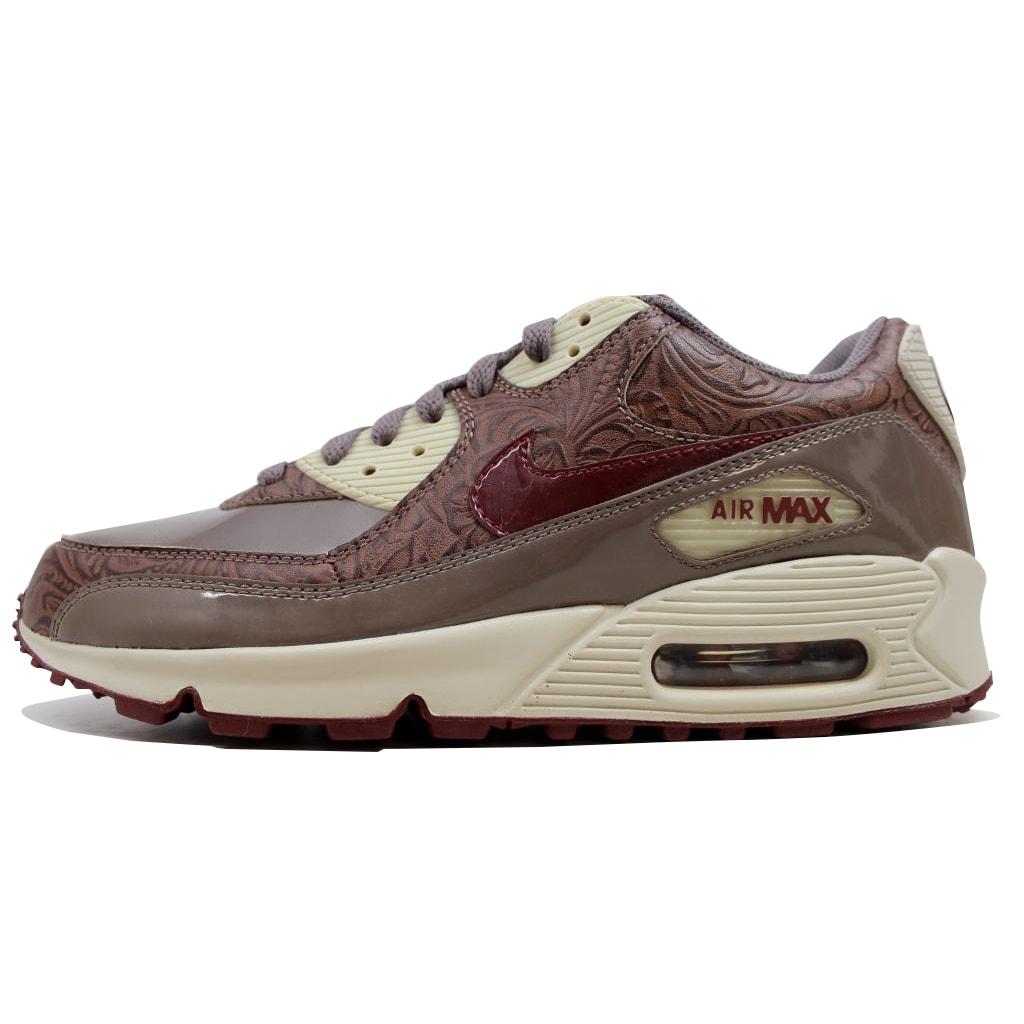 fd0c77b10b Nike Women's Air Max 90 Premium Orewood Brown/Red Earth-Brown 317246-261  Size 10.5
