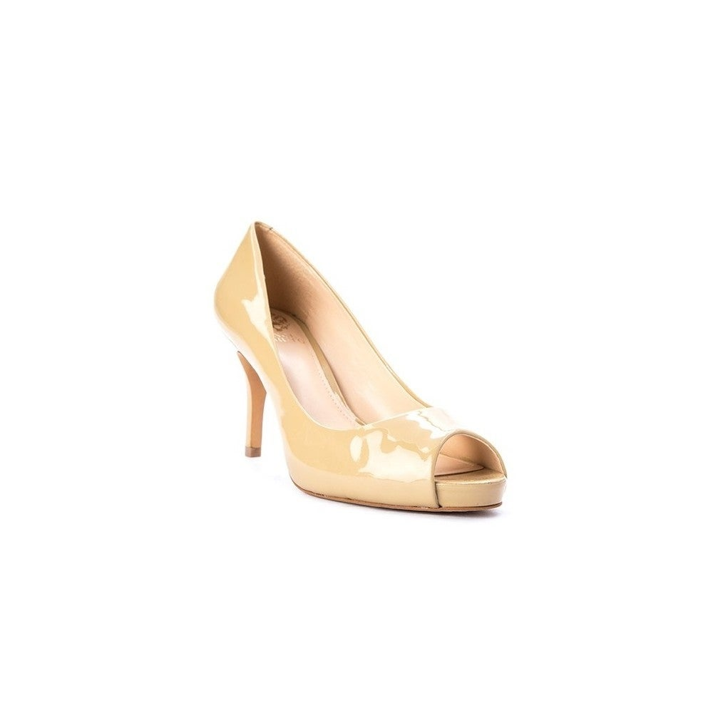984a1e6437 Shop Vince Camuto Womens Kiley Leather Open Toe Classic Pumps - 8.5 - Free  Shipping Today - Overstock - 26443431