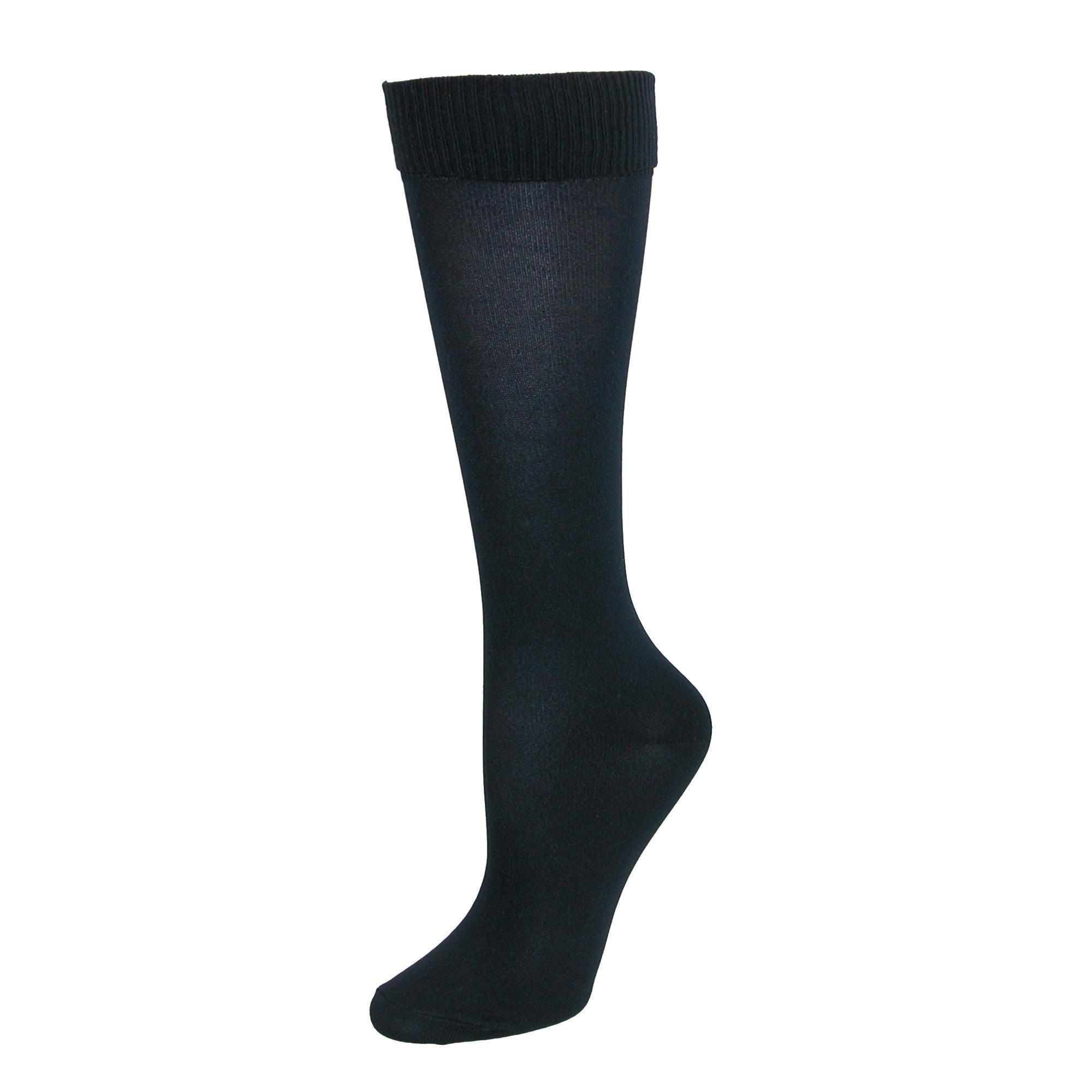 a057a0380 Shop Jefferies Socks Girl s School Uniform Knee High Socks (3 Pair ...