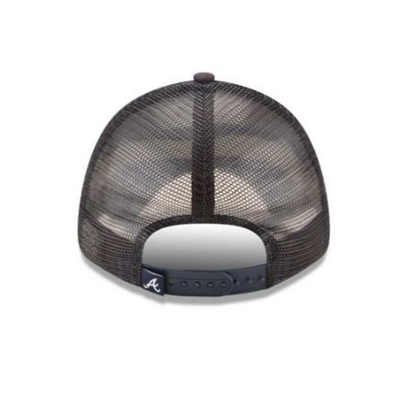 Shop New Era MLB Atlanta Braves Trucker 9Forty Adjustable Baseball Hat 940 11591214