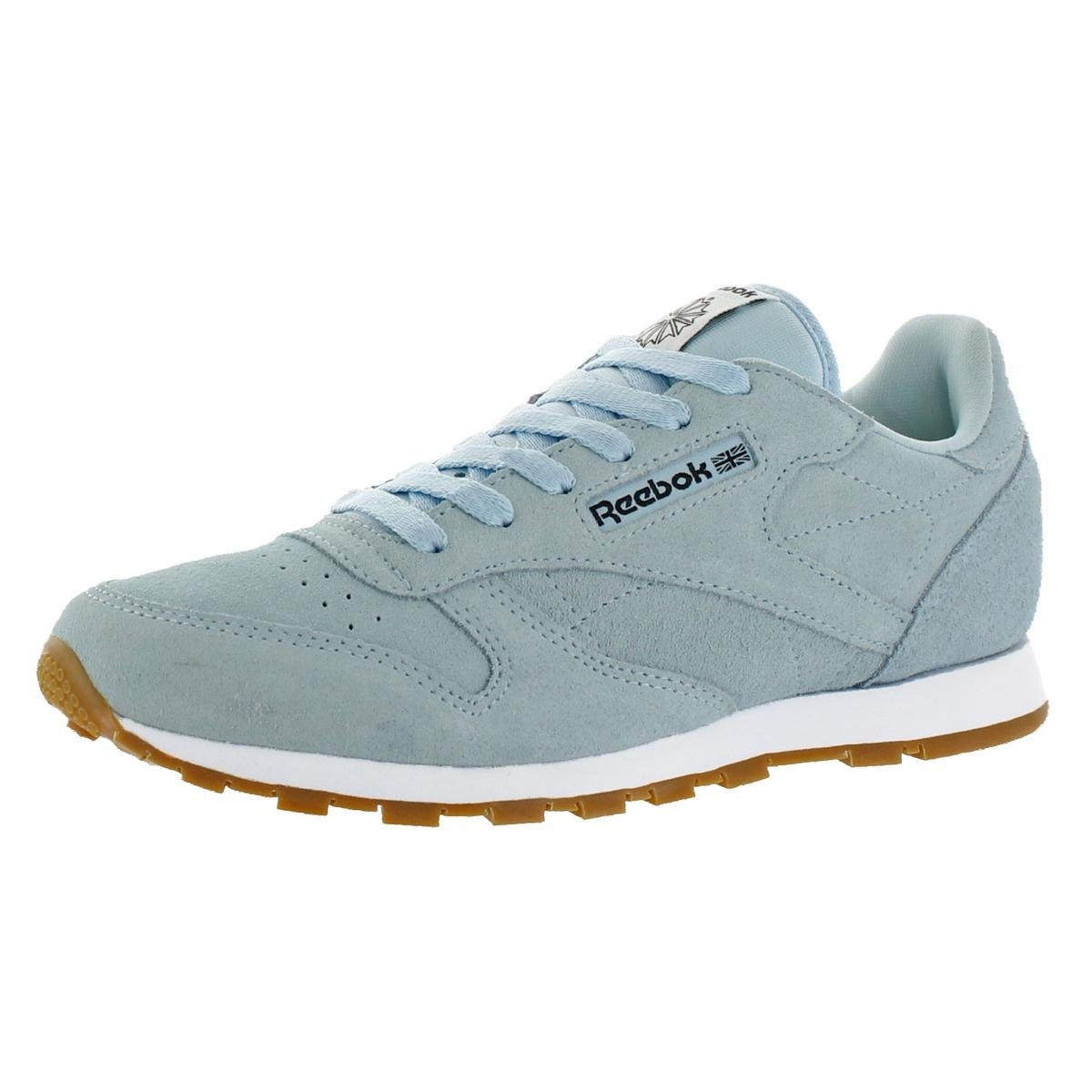 cbd1e2f2e7a6 Shop Reebok Girls Classic Leather Pastels Running Shoes Big Kid Non Marking  - Free Shipping On Orders Over  45 - Overstock - 22680113