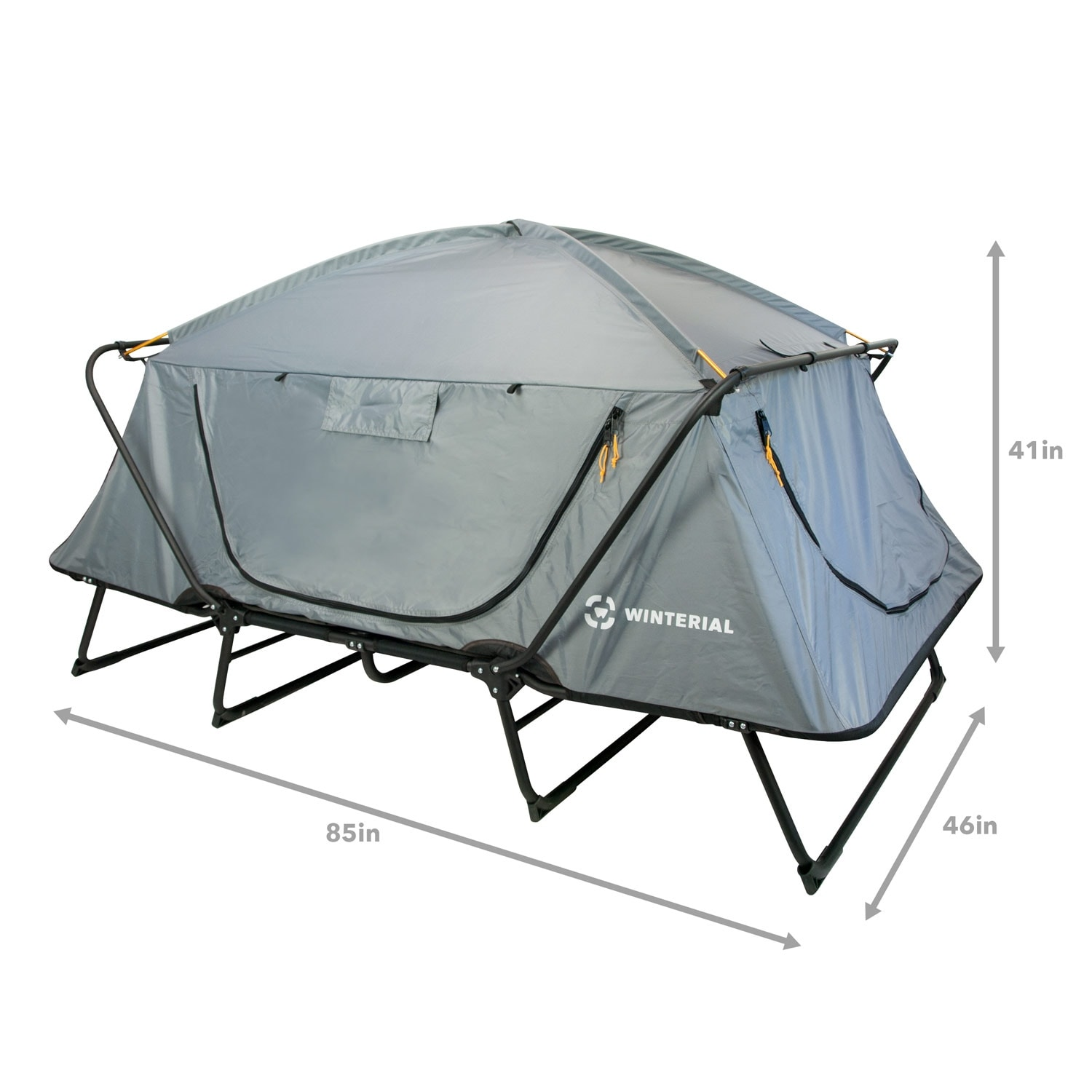 Winterial Oversize Outdoor Tent Cot / C&ing / Family - Free Shipping Today - Overstock.com - 18658592  sc 1 st  Overstock.com & Winterial Oversize Outdoor Tent Cot / Camping / Family - Free ...