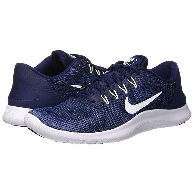 17c02e6de03b Nike Men s Flex Rn 2018 Running Shoe Midnight Navy White-Blue Recall (11 D  Us)