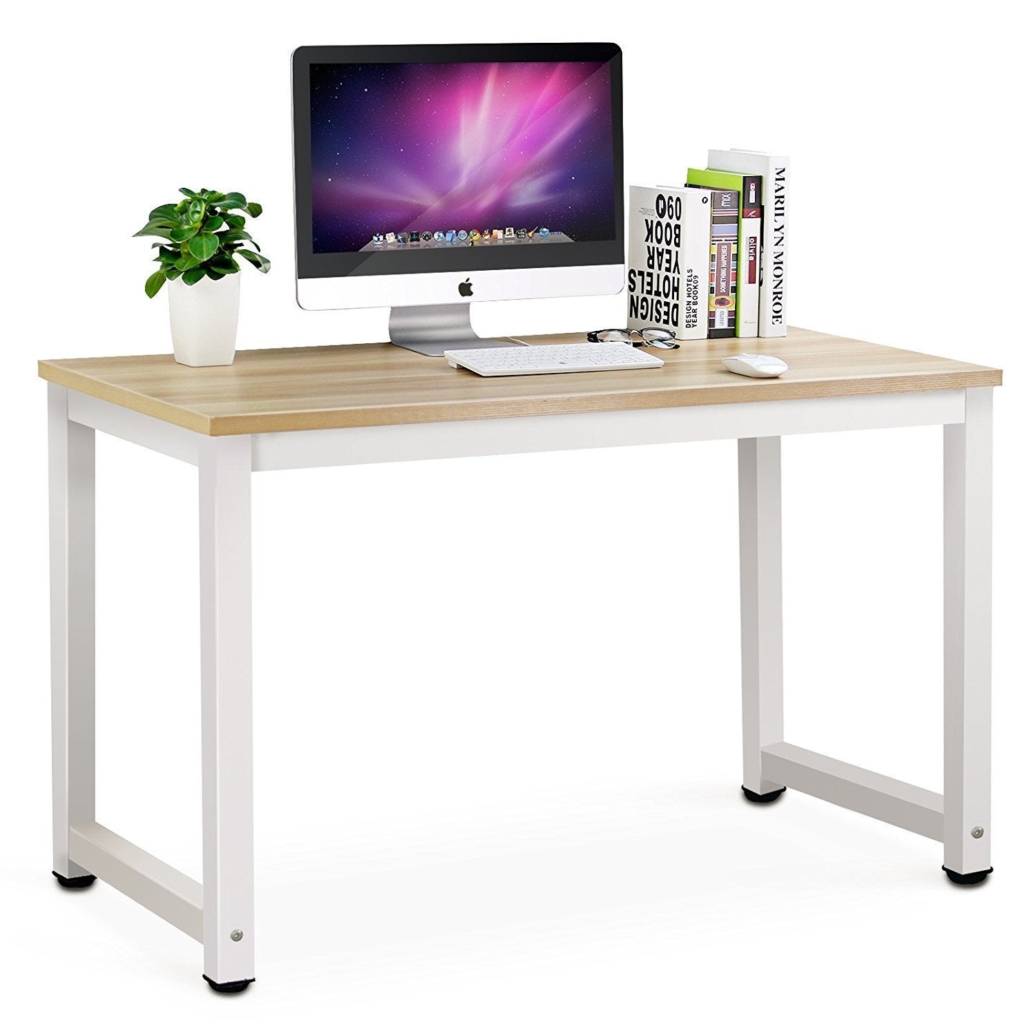 design office desk home simple shop computer desk modern simple office table study writing home on sale free shipping today overstockcom 22118125