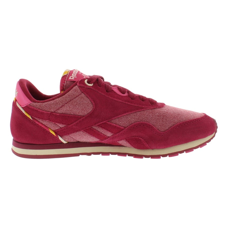 0ef4c241f8a Shop Reebok Classic Nylon Slim Jacquard Women s Shoes - Free Shipping On  Orders Over  45 - Overstock - 22020733