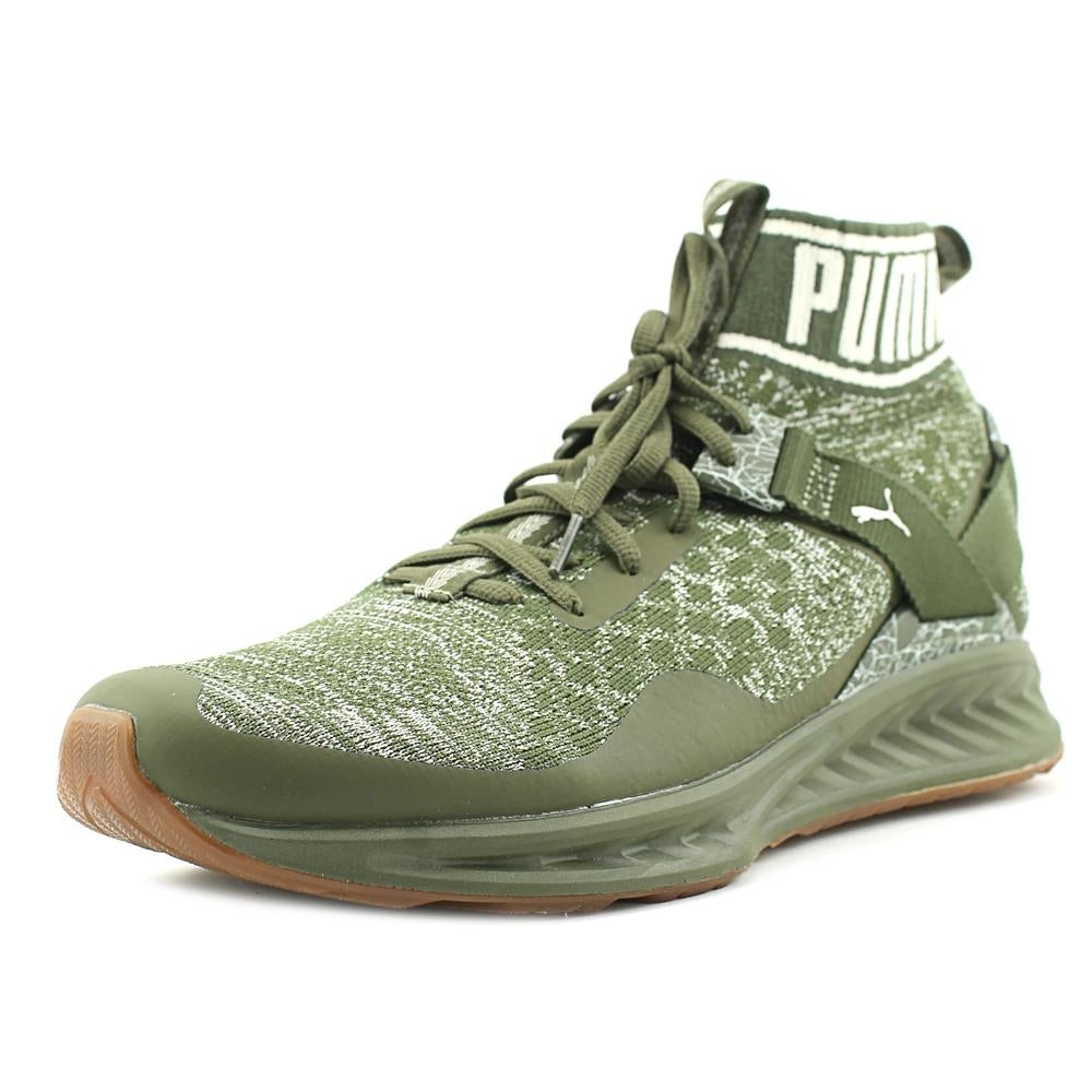 ebdd2a5d653d Shop Puma Ignite evoKnit Hypernature Men Round Toe Synthetic Green Sneakers  - Ships To Canada - Overstock - 19865254