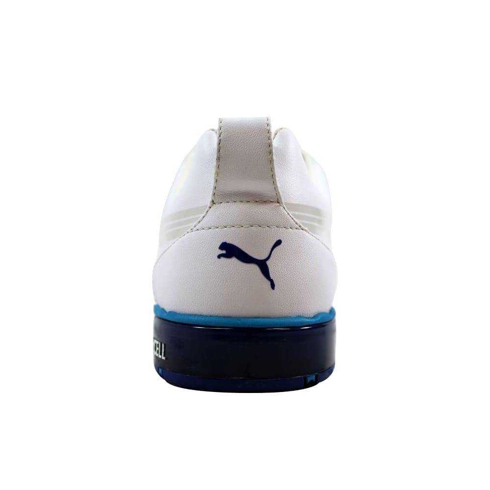 e6181b847cd0 Shop Puma HC Lux LE Golf White Vivid Blue-Surf Men s 186093 03 Size 7  Medium - Free Shipping Today - Overstock - 21893562