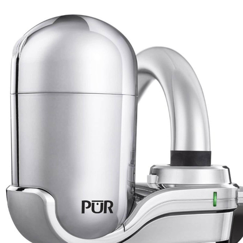 Shop Pur Advanced Faucet Water Filter Chrome Fm-3700B - Free ...