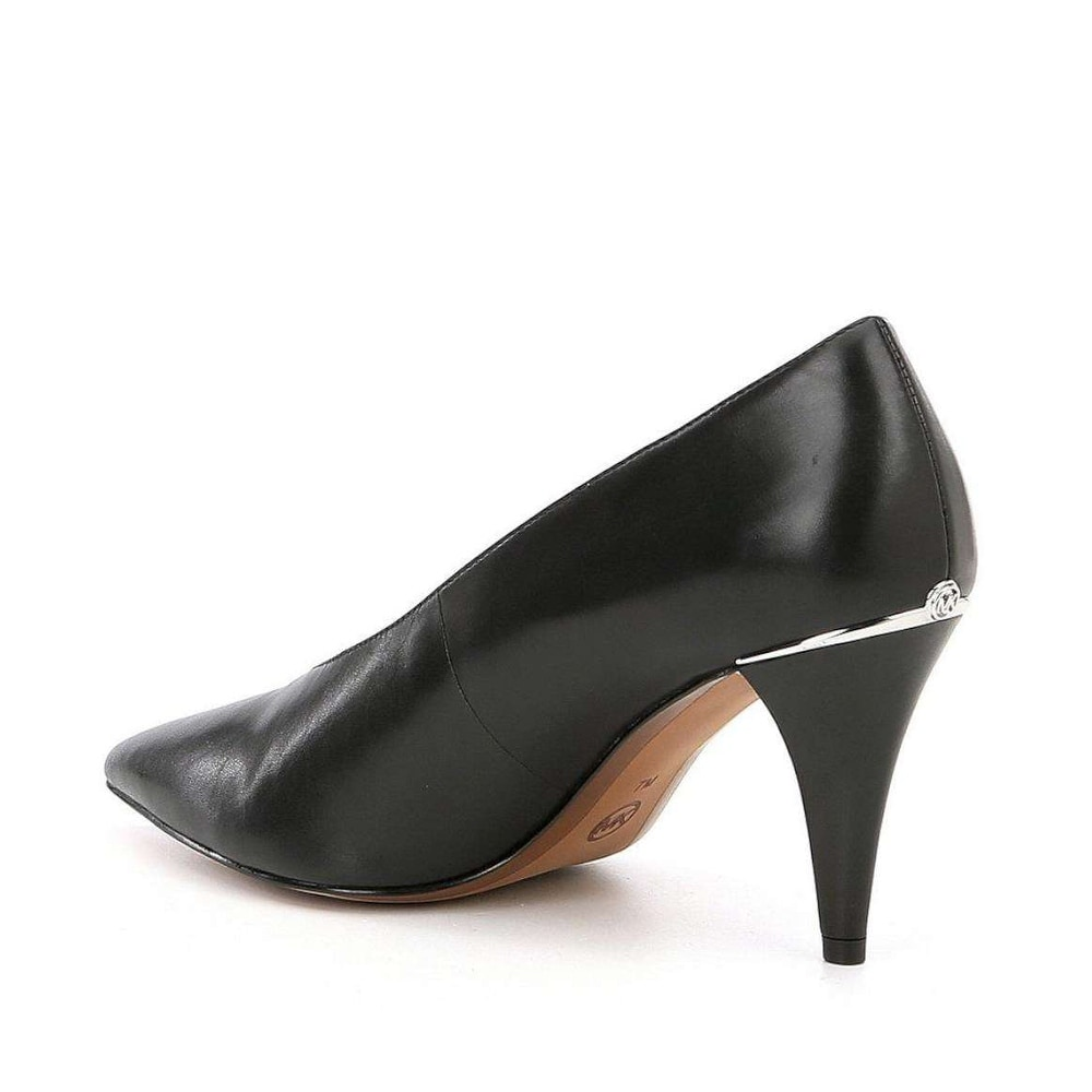 6dbd421503f5 Shop Michael Kors Womens Lizzy Mid Pump Pointed Toe Classic Pumps - Free  Shipping Today - Overstock - 22967500