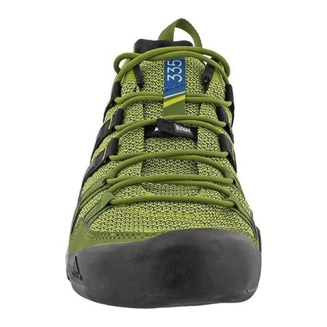 watch 06fa8 6660f Shop adidas Men s Terrex Solo Approach Shoe Unity Lime Black Core Blue -  Free Shipping Today - Overstock - 14538935