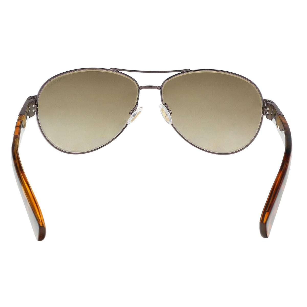 189b39c76cd13 Shop Jimmy Choo BABA S 0VUT Shiny Bronze Aviator Sunglasses - 59-13-135 -  Free Shipping Today - Overstock - 21158380
