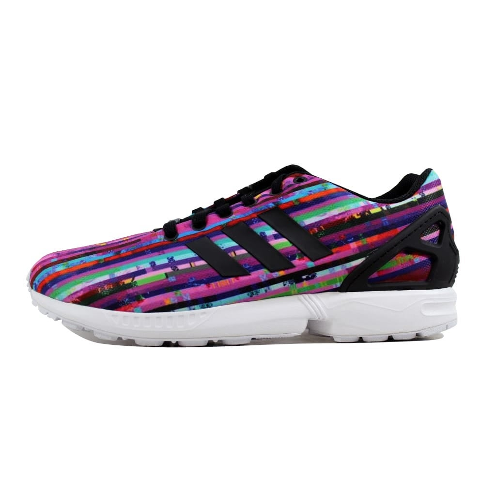 3eede2ac42428 Shop Adidas Men s ZX Flux White Black-Bluebird S76504 - On Sale - Free  Shipping Today - Overstock.com - 21892977