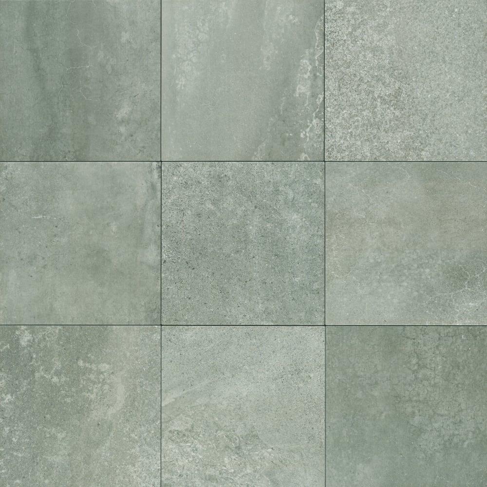 Shop Mohawk Industries 16498 Forte Grey Porcelain Floor Tile 12