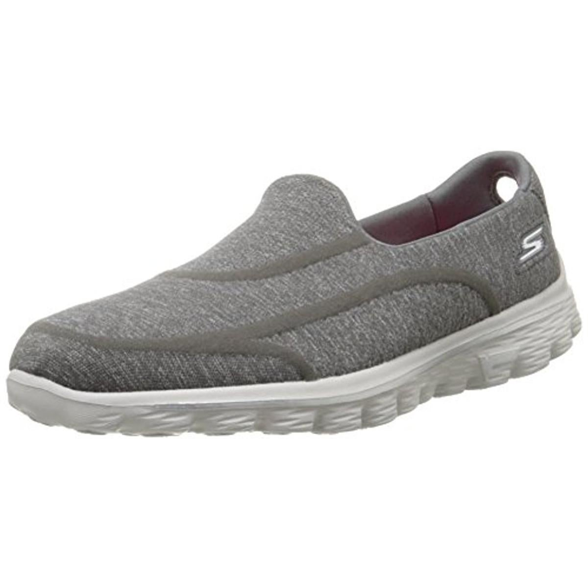 Shop Skechers Womens Go Walk 2 Super Sock 2 Walking Shoes - 6 medium (b,m) - Free Shipping On Orders Over $45 - Overstock.com - 21809278