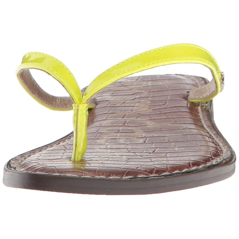 bfdde9ad647 Shop Sam Edelman Women s Gracie Flip-Flop - Free Shipping On Orders Over   45 - Overstock - 27098743