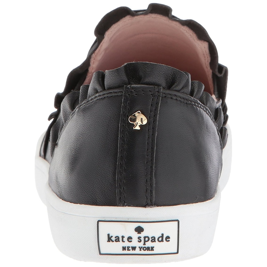 86e01dbb5ff7 Shop Kate Spade New York Womens S1120019NAP Suede Low Top Slip On Fashion  Sneakers - Ships To Canada - Overstock - 21334414