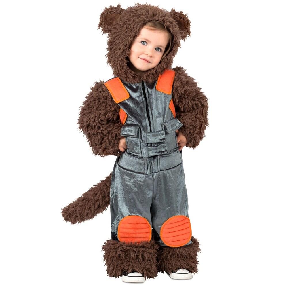 shop princess paradise rocket raccoon infant/toddler costume - multi