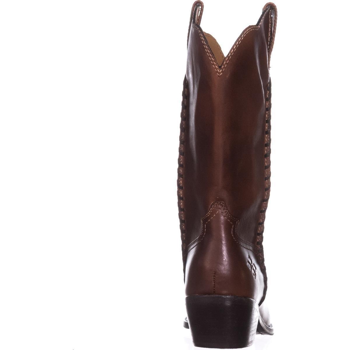 08b460b5912 Patricia Nash Bergamo Cowboy Boots, Whiskey