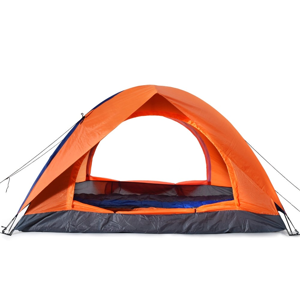 6db92fc71ab Shop ODOLAND 2 Person Camping Tent Waterproof Lightweight Tent for Camping  Traveling Hiking with Carry Bag - SIZE - Free Shipping On Orders Over  45  ...