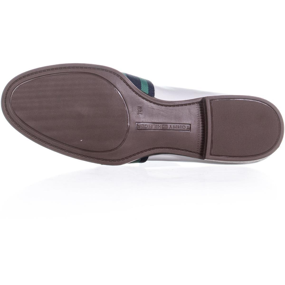 a1bfeb7d5d9 Shop Tommy Hilfiger Ignaz Block Heel Slip On Loafers