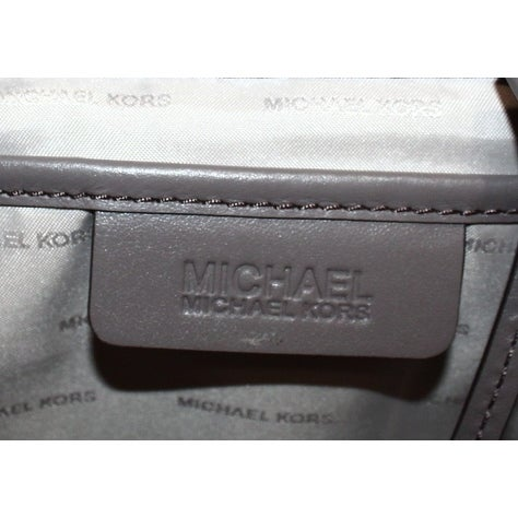 119de21fab9f Shop Michael Kors NEW Gray Cinder Leather Quilted Loni Zip Tote Bag Purse -  Free Shipping Today - Overstock - 19566750