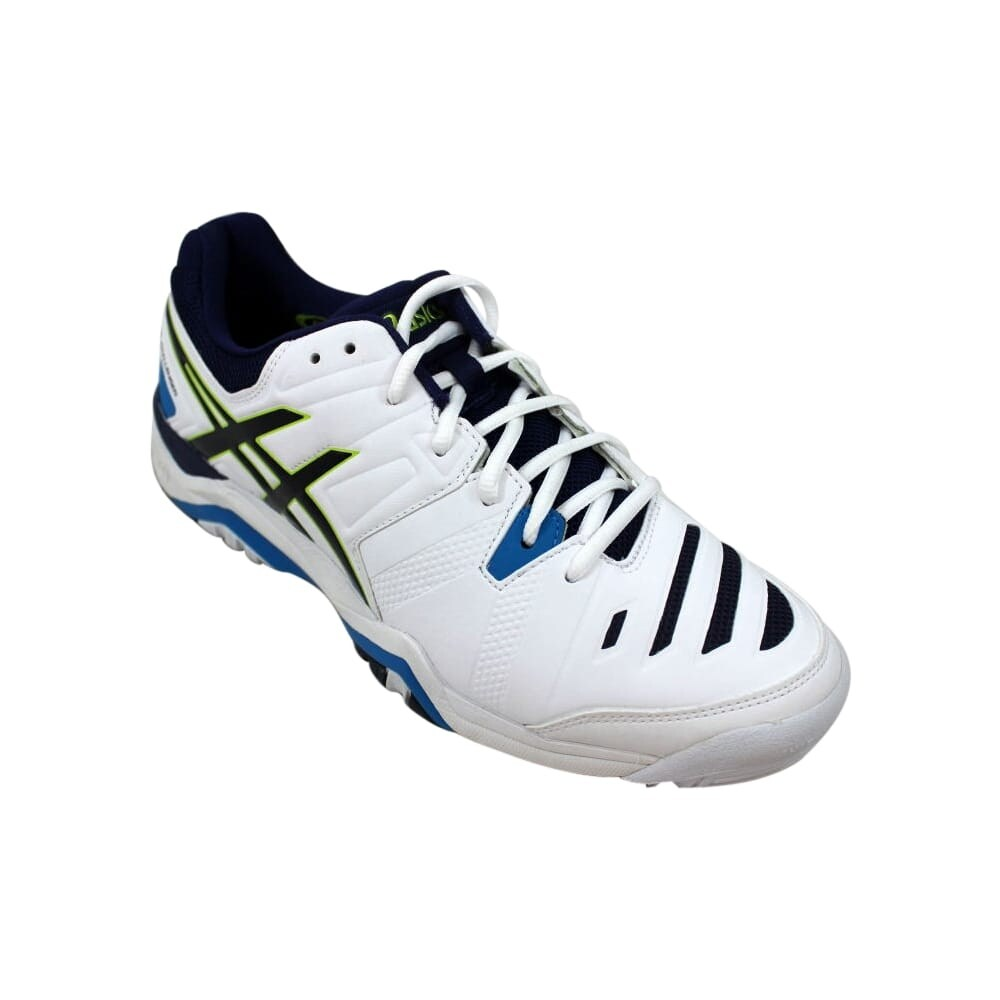 promo code f0945 b415a Shop Asics Gel Challenger 10 White Lime-Indigo Blue E504Y 0105 Men s - Free  Shipping Today - Overstock - 27640697