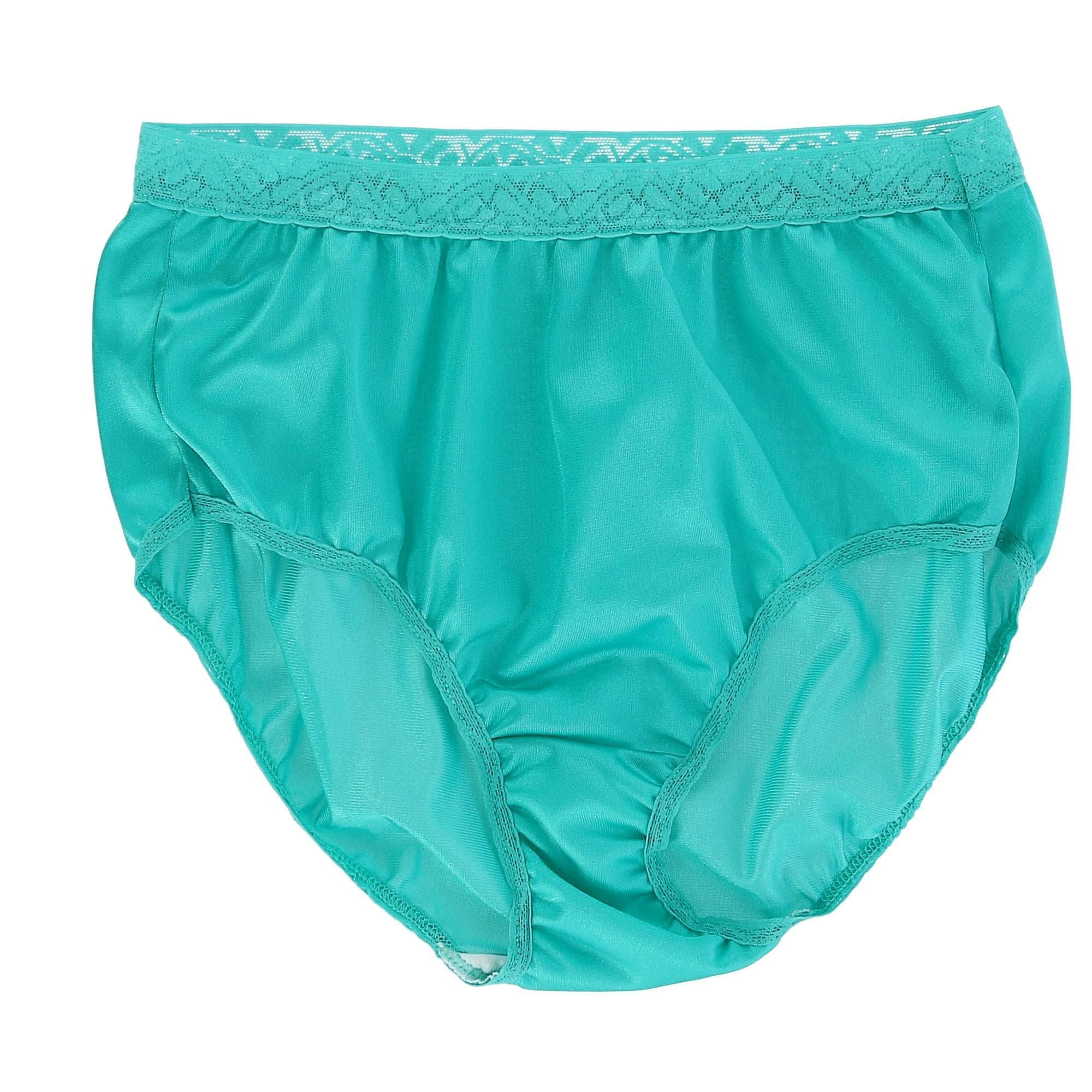 036f0f56554d Shop Fruit of the Loom Women's Nylon Lace Trim Brief Underwear (6 Pack) -  Free Shipping On Orders Over $45 - Overstock - 25483585