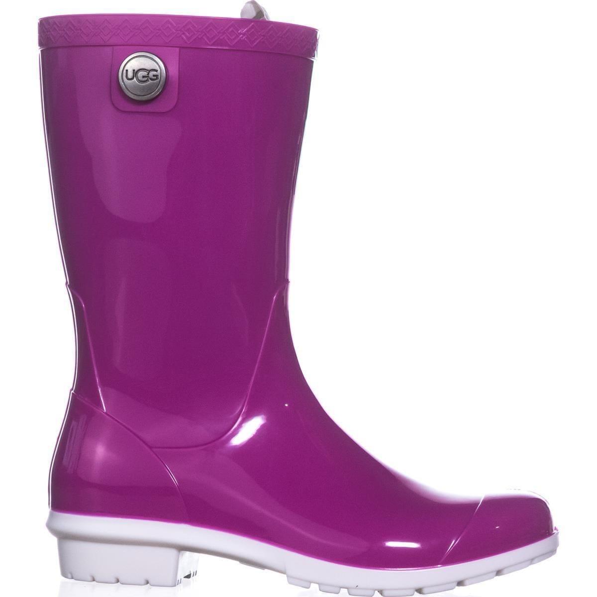 3eb0dcc2c1f UGG Sienna Mid-Calf Rain Boots, Neon Pink - 5 us / 36 eu