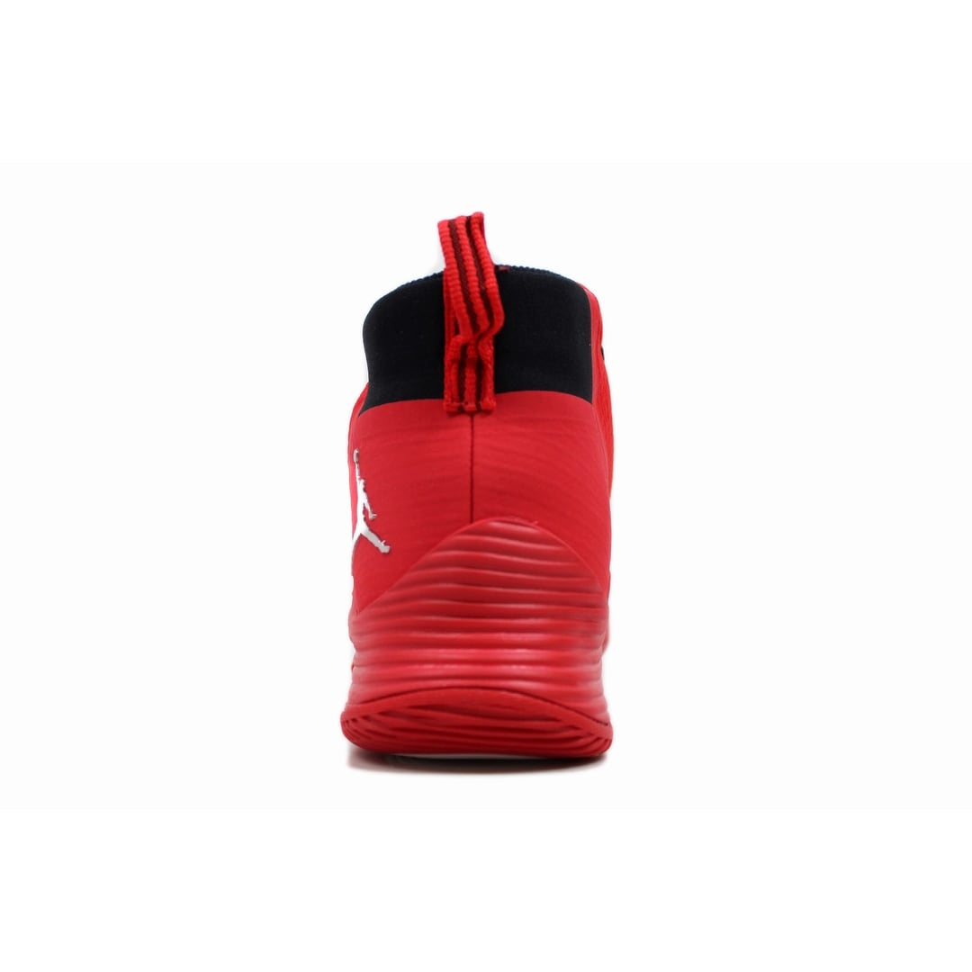 cbfd7aa87335 Shop Nike Men s Air Jordan Ultra Fly 2 TB University Red Metallic Silver  921211-606 - Free Shipping Today - Overstock - 20131446