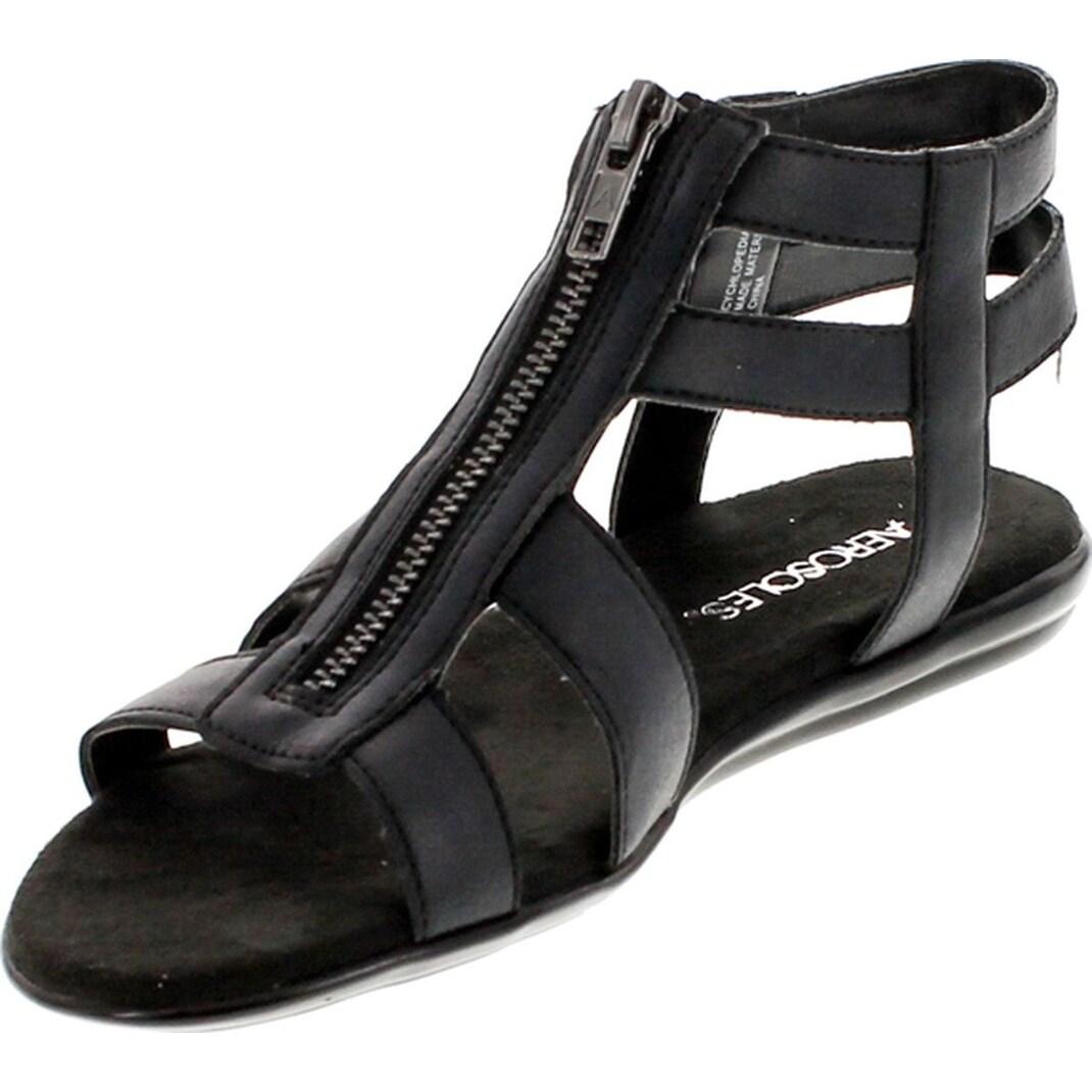 40a4e1307e75 Shop Aerosoles Women s Encychlopedia Gladiator Sandal - Free Shipping On Orders  Over  45 - Overstock - 20908537