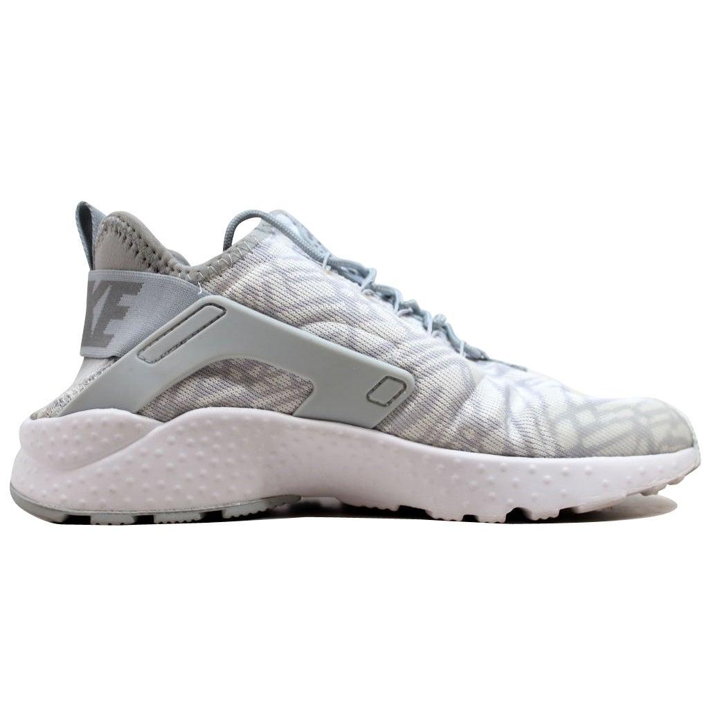 3e58031f8fd Shop Nike Women s Huarache Run Ultra KJCRD White Metallic Silver-Wolf Grey  818061-100 - Free Shipping Today - Overstock - 19508213