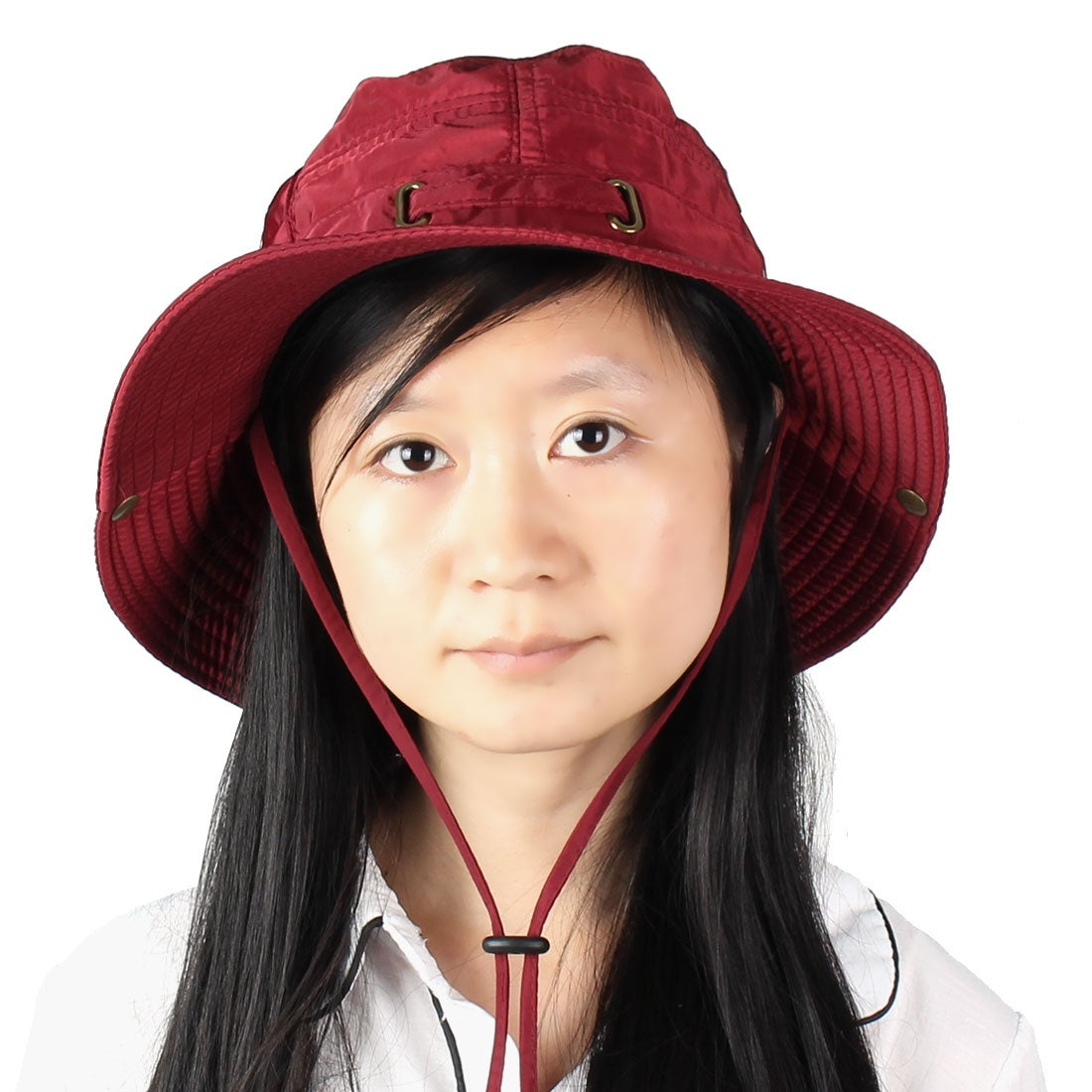 Shop Fisherman Cotton Blends Sports Wide Brim Bucket Summer Cap Fishing Hat  Burgundy - On Sale - Free Shipping On Orders Over  45 - Overstock - 18459283 4d1cf813cd60