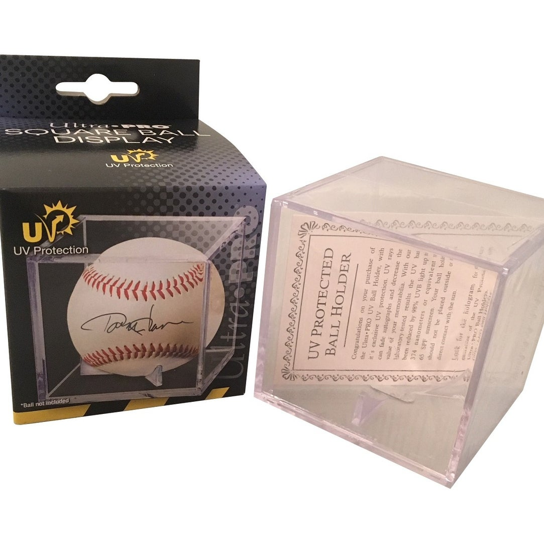 3cb9db65a41 Shop Ozzie Albies Atlanta Braves Autographed MLB Signed Baseball JSA COA 2  With UV Display Case - Free Shipping Today - Overstock - 24101661