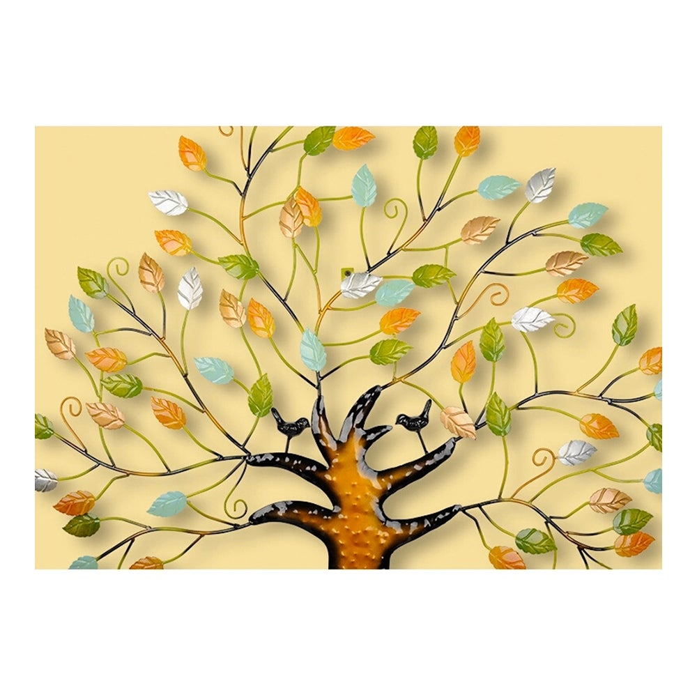 Shop Modern Simple Iron Money Tree Wall Hanging Decoration - Free ...