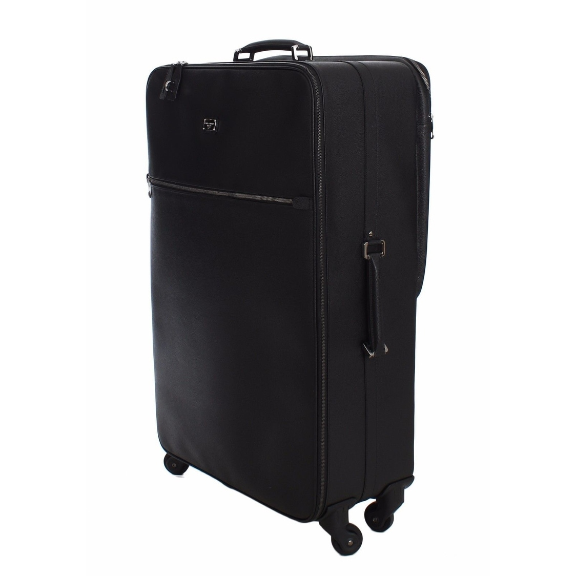 94381f3d1f Shop Dolce   Gabbana Luggage Bag Black Leather Travel Suitcase Trolley -  One size - Free Shipping Today - Overstock - 16714973