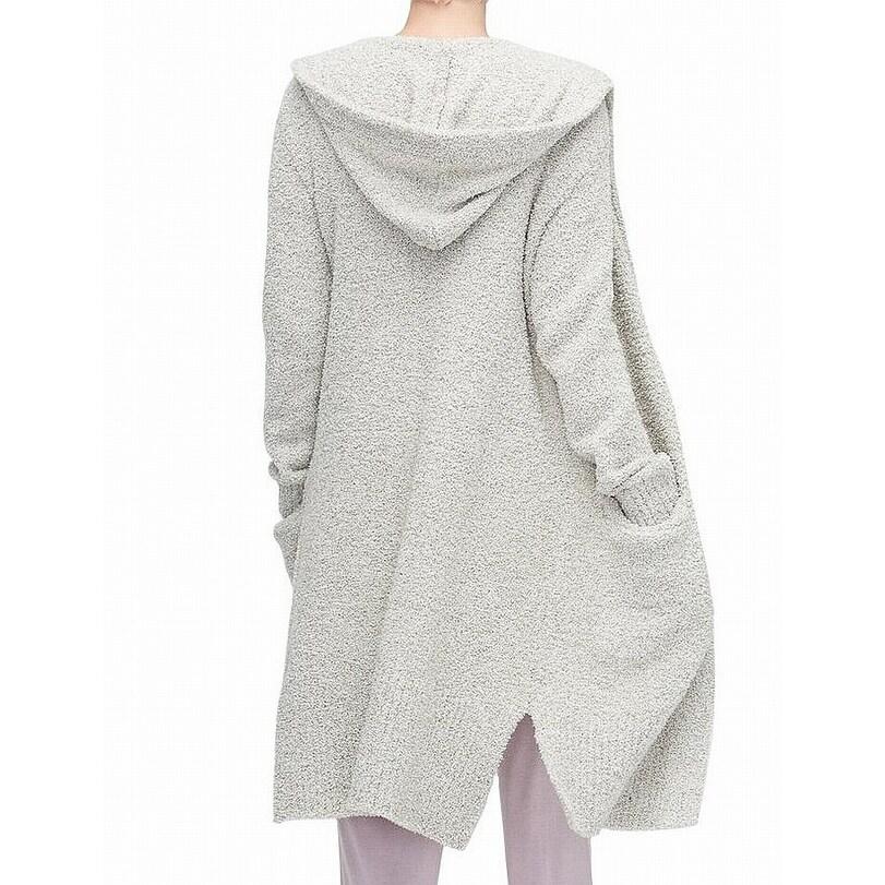 c6789ba3f58 UGG Gray Womens Size XS/ S Judith Knit Plush Cardigan Sweater